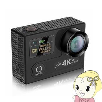SVC600BK ジョワイユ 4K Wi-Fi アクションカメラ SUPER PRO【KK9N0D18P】