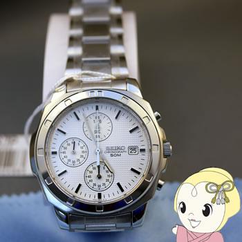 【あす楽】在庫僅少 【逆輸入品】 SEIKO クォーツ 腕時計 クロノグラフ SND187P1【smtb-k】【ky】【KK9N0D18P】