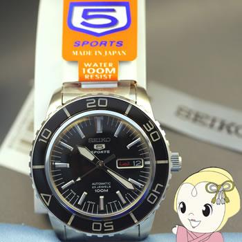【あす楽】在庫僅少 [逆輸入品/日本製] SEIKO 自動巻 腕時計 セイコー5 SNZH55J1【smtb-k】【ky】【KK9N0D18P】