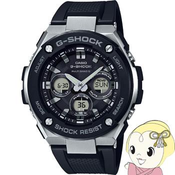 【キャッシュレス5%還元】【あす楽】【在庫僅少】カシオ 腕時計 G-SHOCK G-STEEL ミドルサイズ GST-W300-1AJF【KK9N0D18P】