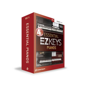 【キャッシュレス5%還元店】EZKEP クリプトン ソフト音源 EZ KEYS - ESSENTIAL PIANOS【KK9N0D18P】