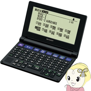 PW-NK1 シャープ 電子辞書 音声対応/50音順キー配列【KK9N0D18P】