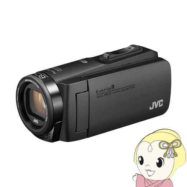 【キャッシュレス5%還元店】GZ-RX680-B JVC ハイビジョンメモリームービー(マットブラック)【KK9N0D18P】