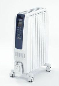 デロンギ オイルヒーター ドラゴンデジタル スマート X字型フィン7枚 3~8畳用 QSD0712-MB【smtb-k】【ky】【KK9N0D18P】