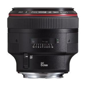 キヤノン 単焦点レンズ キヤノンEFマウント系 EF85mm F1.2L II USM【KK9N0D18P】