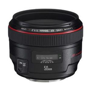 キヤノン 単焦点レンズ キヤノンEFマウント系 EF50mm F1.2L USM【KK9N0D18P】