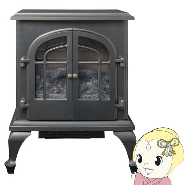 [予約]YDH-SL10P-B 山善 暖炉型ヒーター(ブラック)【smtb-k】【ky】【KK9N0D18P】