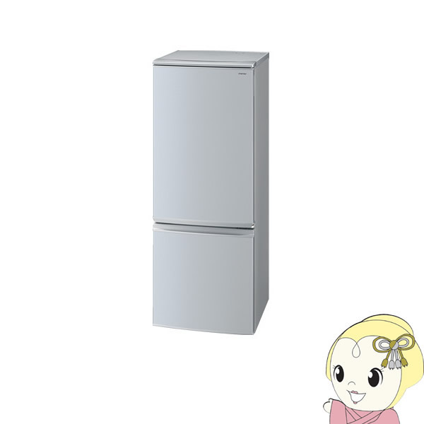 SJ-D17D-S シャープ 2ドア冷蔵庫167L どっちもドア シルバー系【smtb-k】【ky】【KK9N0D18P】