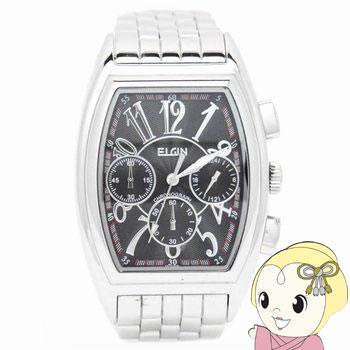 【キャッシュレス5%還元店】エルジン クロノグラフ 腕時計 FK1215S-B【KK9N0D18P】