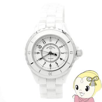 【キャッシュレス5%還元】ピエールタラモン レディース 腕時計 PT-1600L-WH【KK9N0D18P】