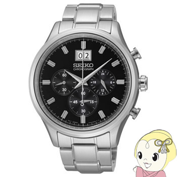 【キャッシュレス5%還元店】[逆輸入品] SEIKO クォーツ 腕時計 クロノグラフ SPC083P1【KK9N0D18P】