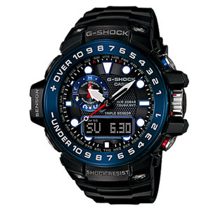【あす楽】【在庫僅少】カシオ 腕時計 G-SHOCK GULFMASTER GWN-1000B-1BJF 【定番】【smtb-k】【ky】【KK9N0D18P】