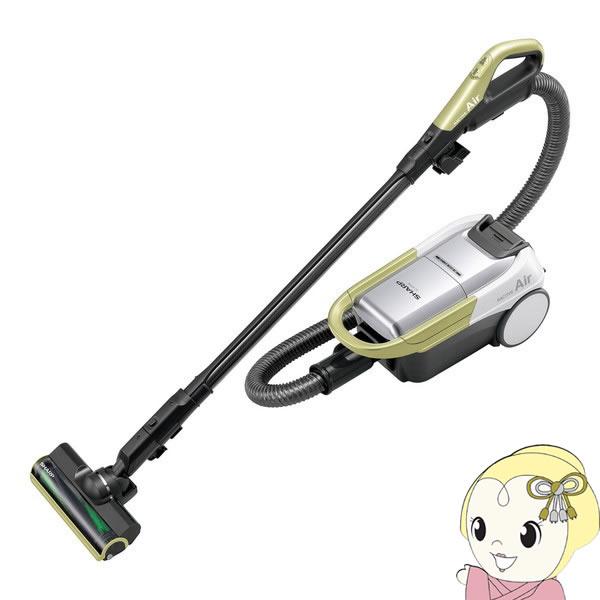 EC-AP500-Y シャープ コードレスキャニスター紙パック式掃除機 イエロー系【smtb-k】【ky】【KK9N0D18P】