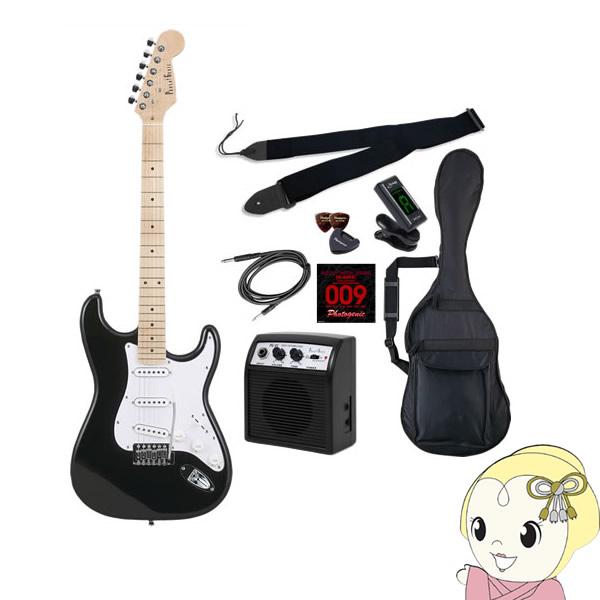 【メーカー直送】 エレキギター 初心者セット フォトジェニック ST-180 入門セット ブラック (メイプル指板)【smtb-k】【ky】【KK9N0D18P】