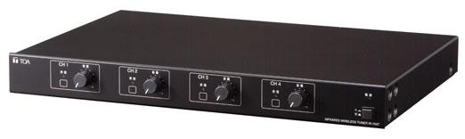 【キャッシュレス5%還元店】IR-704T TOA 据置型赤外線チューナー 4ch【smtb-k】【ky】【KK9N0D18P】