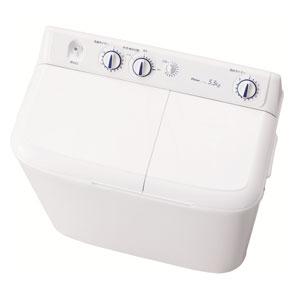 【在庫限り】JW-W55E-W ハイアール2槽式洗濯機【KK9N0D18P】