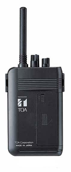 WM-1100 TOA ワイヤレスガイド携帯型送信機【KK9N0D18P】