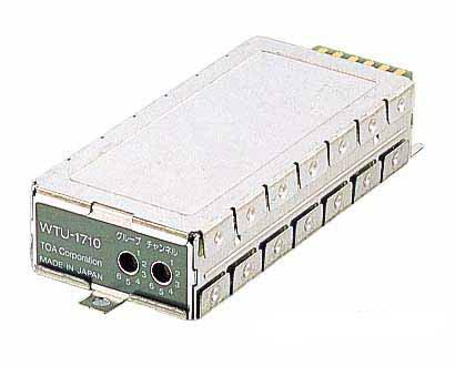 【キャッシュレス5%還元店】WTU-1710 TOA シングルワイヤレス組込機器用プラグイン型チューナーユニット【KK9N0D18P】