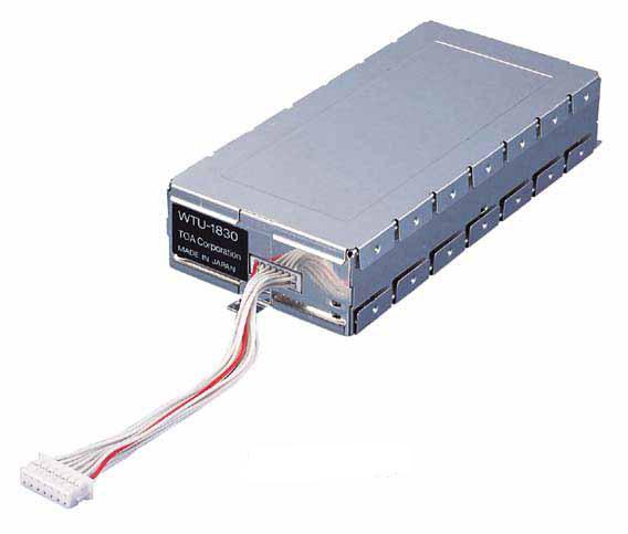 WTU-1830 TOA 増設用ダイバシティチューナーユニット 水晶制御PLLシンセサイザー方式【KK9N0D18P】