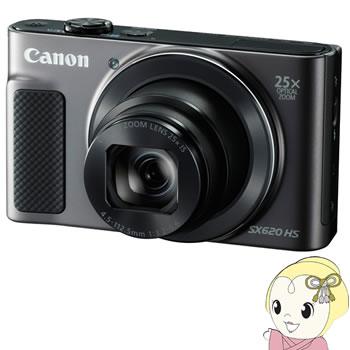 キヤノン コンパクトデジタルカメラ PowerShot SX620 HS [ブラック] 【Wi-Fi機能】【手ブレ補正】【KK9N0D18P】