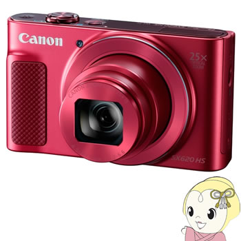 キヤノン コンパクトデジタルカメラ PowerShot SX620 HS [レッド] 【Wi-Fi機能】【手ブレ補正】【KK9N0D18P】