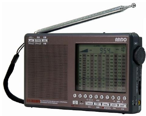 S11-783DPU アンドー FMAM短波シンセサイザーラジオ 携帯ラジオ【KK9N0D18P】