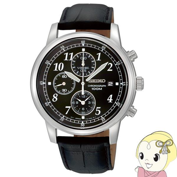 【逆輸入品】 SEIKO クォーツ 腕時計 クロノグラフ SNDC33P1【smtb-k】【ky】【KK9N0D18P】