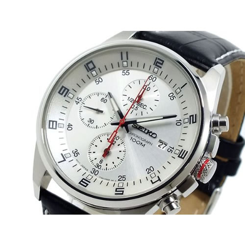 【あす楽】【在庫処分】[逆輸入品] SEIKO クォーツ 腕時計 クロノグラフ SNDC87P2【smtb-k】【ky】【KK9N0D18P】