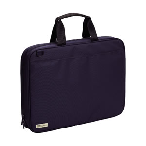 A-7581-11 Lihit Lab SMART FIT carrying bag wide opening type navy