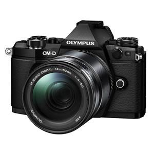 【キャッシュレス5%還元店】OLYMPUS ミラーレス一眼レフカメラ OM-D E-M5 Mark II 14-150mm II レンズキット [ブラック]【smtb-k】【ky】【KK9N0D18P】