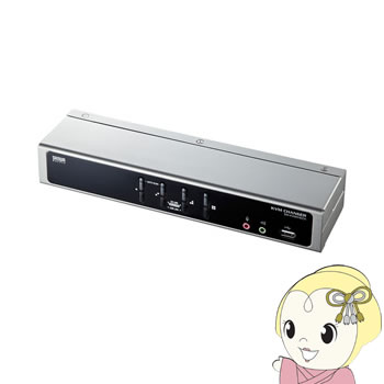 SW-KVM4HDCN サンワサプライ デュアルリンクDVI対応パソコン自動切替器(4:1)【smtb-k】【ky】【KK9N0D18P】