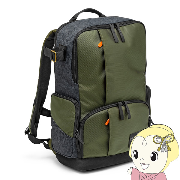 [予約]MS-BP-IGR マンフロット バックパック Street camera and laptop backpack I for DSLR/CSC【KK9N0D18P】