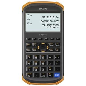 【在庫処分】FX-FD10PRO カシオ 土木測量専業電卓【smtb-k】【ky】【KK9N0D18P】