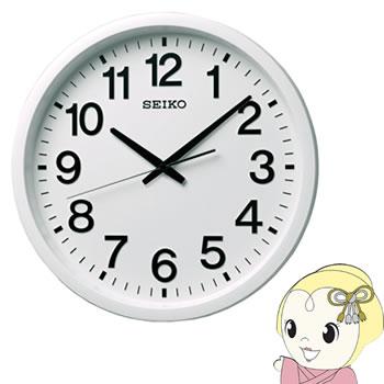 セイコークロック 掛け時計 衛星電波 アナログ 白 GP202W【smtb-k】【ky】【KK9N0D18P】