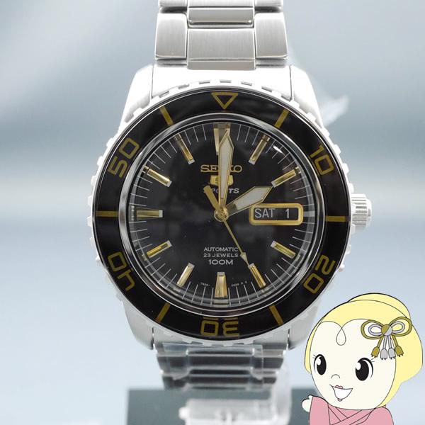 【あす楽】【在庫処分】[逆輸入品] SEIKO 自動巻 腕時計 セイコー5 SNZH57K1【smtb-k】【ky】【KK9N0D18P】