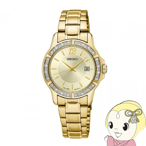 【あす楽】【在庫処分】[逆輸入品] SEIKO クオーツ レディース 腕時計 SUR714P1【smtb-k】【ky】【KK9N0D18P】