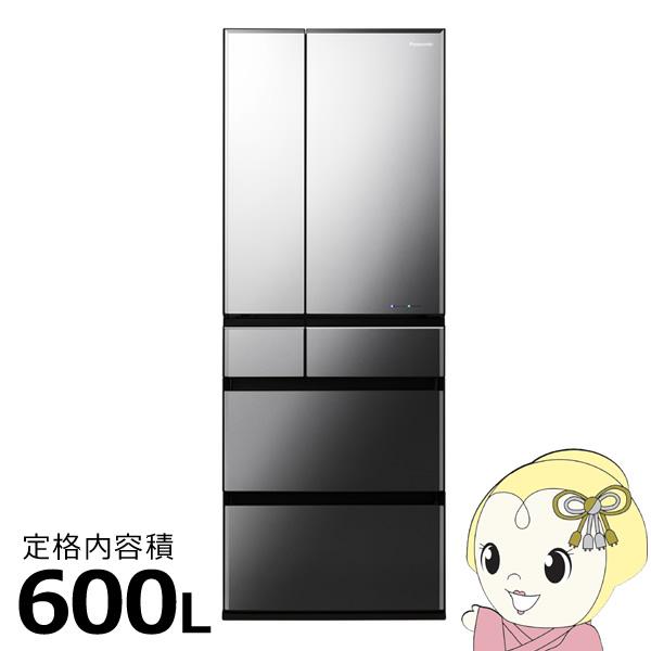 【京都はお得!】【設置込】NR-F604WPX-H パナソニック 6ドア冷蔵庫600L WPXタイプ オブシディアンミラー【smtb-k】【ky】【KK9N0D18P】