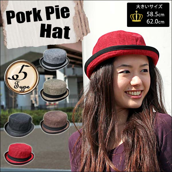 auc-global-ma  Enjoy in the pork pie Hat Pork Pie HAT HAT Hat unisex HAT  mens Womens  3ecb5f4bcb0