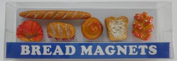 お気にいる 現品 本物みたいな食べ物シリーズ ミニマグネット ブレッド