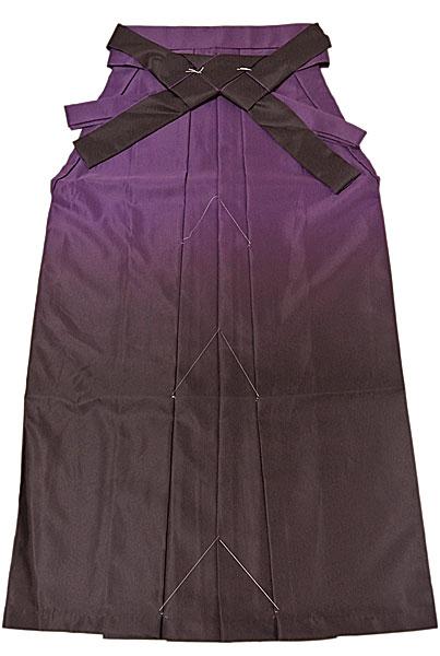 袴 はかま 卒業式 女性用 ボカシ袴 上質高級袴 丸洗いOK はかま 紫ボカシ1 size M 91