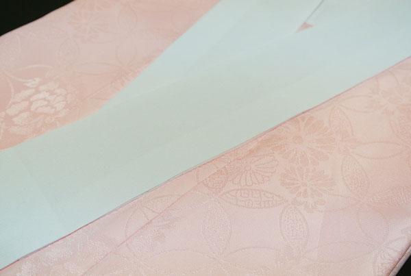 ポリエステル 長襦袢 仕立上り 半衿付き ピンク綸子 長襦袢 Mサイズ Lサイズ新入荷 オススメ送料無料DH2WIeE9Y