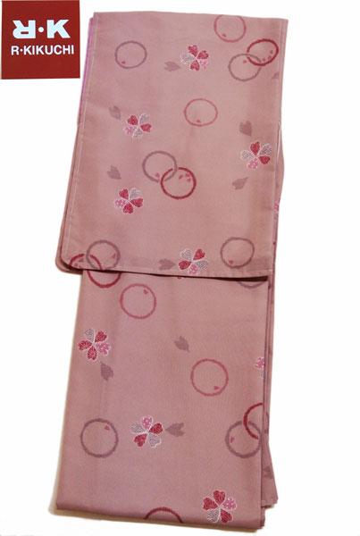 洗える着物 RYOKO KIKUCHI/キクチリョウコお仕立て上がり きもの 袷小紋 紫色系洗えるきもの プレタ着物 蘇芳香色 RK-18