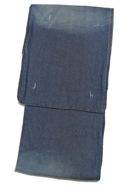 デニム着物 メンズ 紳士 デニム着物 感性で自由に楽しめる新しいデニム着物!メンズ きもの お仕立て上がり男物 デニム着物【送料無料】
