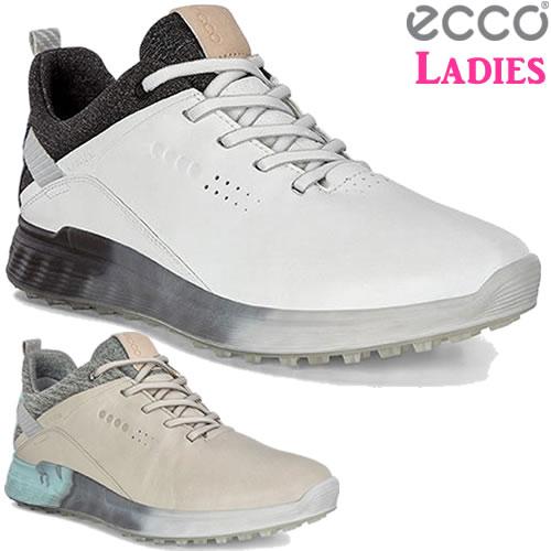エコー ecco エス-スリーゴルフレディースシューズ S-THREE Golf Ladies 2019年モデル 全2色 (102903)