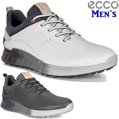 エコー ecco エス-スリーゴルフメンズシューズ S-THREE Golf Mens 2019年モデル 全2色 (102904)