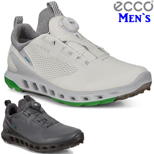エコー ecco バイオムクールプロゴルフ メンズスパイクレスボアGTXシューズ 2020年モデル 全2色 (102114)