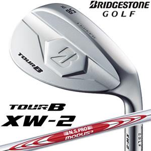 ブリヂストンゴルフ BridgestoneGOLF ツアービーエックスダブリュー2 TOUR B XW-2 ウェッジシルバー N.S.PRO MODUS3 TOUR120スチールシャフト