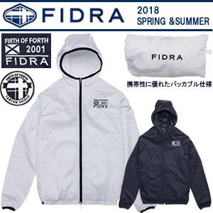 フィドラ FIDRA リップストップ素材パッカブルパーカージャケット 2018春夏 メンズ 全2色 M-XL FDA0103