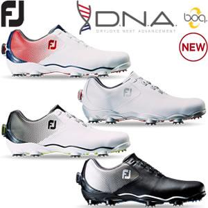 フットジョイ FootJoy ディエヌエ-ボア DNA boa ゴルフシューズ 2017年モデル 男性 メンズ 全4色 24.5-27.5cm 横幅(W/ウィズ/標準)