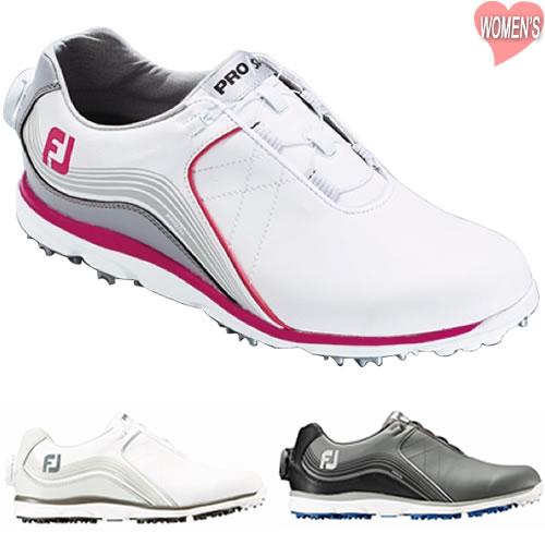 フットジョイ FOOTJOY PRO/SL Boa レディースゴルフシューズ 全3色 22.5-25cm